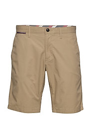 BROOKLYN SHORT LIGHT TWILL - BEIGE