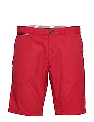 BROOKLYN SHORT LIGHT TWILL - PRIMARY RED