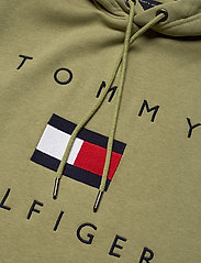 Tommy Hilfiger - TOMMY FLAG HILFIGER HOODY - hoodies - faded olive - 2