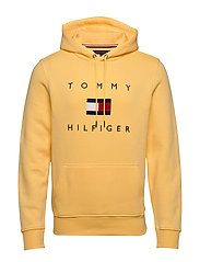 TOMMY FLAG HILFIGER HOODY - SUN RAY