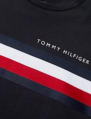 Tommy Hilfiger - GLOBAL STRIPE TEE - lyhythihaiset - desert sky - 2