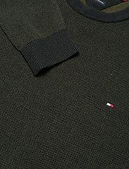 Tommy Hilfiger - MOULINE STRUCTURE CREW NECK - tricots basiques - camo green - 2