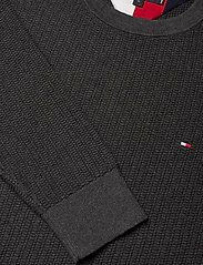 Tommy Hilfiger - BOLD TEXTURED COTTON SWEATER - basic strik - charcoal heather - 2
