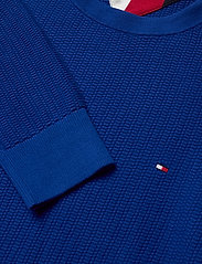 Tommy Hilfiger - BOLD TEXTURED COTTON SWEATER - tricots basiques - cobalt - 2