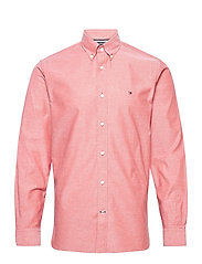 FLEX REFINED OXFORD SHIRT - PRIMARY RED