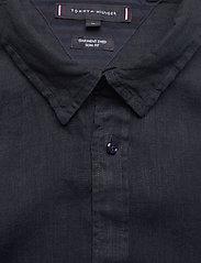 Tommy Hilfiger - SLIM GARMENT DYED LINEN SHIRT - basic shirts - desert sky - 2