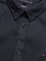 Tommy Hilfiger - SLIM GARMENT DYED LINEN SHIRT - basic shirts - desert sky - 3