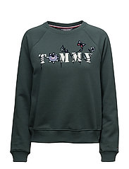 TOMMY FLORAL EMB SWE - GREEN GABLES