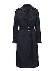 INGRID TECH TRENCH - PEACOAT
