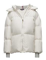 IVAN SUPER DOWN COAT - SNOW WHITE