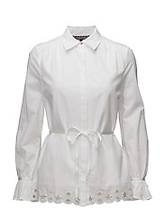 HAYETTE BLOUSE - CLASSIC WHITE