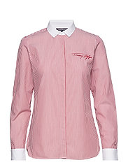 RAQUE SHIRT LS W2 - ITHACA STP / POMPEIAN RED