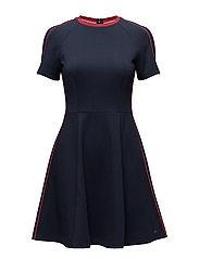 NEW IMOGEN DRESS SS - MIDNIGHT