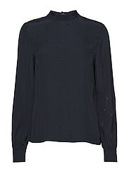 SUSANNA BLOUSE LS - MIDNIGHT