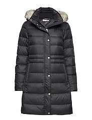 8dd454d227e32a New Tyra Down Coat (Black Beauty) (149.50 €) - Tommy Hilfiger ...