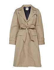 TOMMY ICONS CITY ECO TRENCH - CLASSIC CAMEL