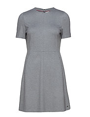 ARIELLE DRESS - MEDIUM GREY HTR