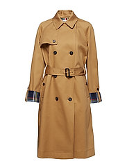 MARILYN BONDED TRENCH - CLASSIC CAMEL