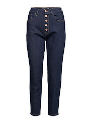 ZENDAYA CINDY SHW SKINNY ANK - DENIM BLUE