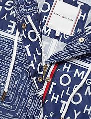 Tommy Hilfiger - SUKI PACKABLE WINDBR - vestes legères - scarf prt ow / medieval blue - 3