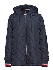 IVAN QUILTED JACKET - SKY CAPTAIN