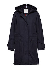 TH ESSENTIAL PARKA - MIDNIGHT