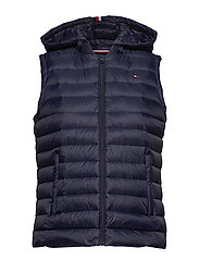 TH ESSENTIAL LW DWN PACK VEST - MIDNIGHT