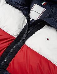 Tommy Hilfiger - NAOMI RECYCLED DOWN JKT - padded jackets - rwb colour block - 3