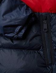 Tommy Hilfiger - NAOMI RECYCLED DOWN JKT - padded jackets - rwb colour block - 4