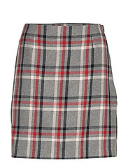 JADE MINI SKIRT - GLOBAL CHECK