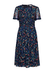 BLAIR DRESS SS - PAISLEY BORDER