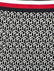 Tommy Hilfiger - CERRA SKT - midi skirts - th cube black - 2