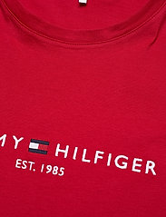 Tommy Hilfiger - NEW TH ESS HILFIGER - logo t-shirts - primary red - 2