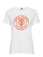 TH COOL ESS RELAXED GRAPHIC TEE - WHITE