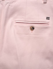 Tommy Hilfiger - COTTON PASTEL TAPERED PANT - straight leg trousers - pale pink - 4