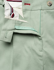 Tommy Hilfiger - COTTON PASTEL TAPERED PANT - straight leg trousers - sea mist mint - 5