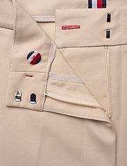 Tommy Hilfiger - SLUB COTTON CULOTTE PANT - straight leg trousers - sahara tan - 3