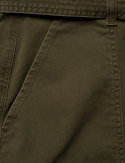 Tommy Hilfiger - COTTON TWILL MINI SKIRT - jupes courtes - army green - 2