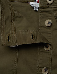 Tommy Hilfiger - COTTON TWILL MINI SKIRT - jupes courtes - army green - 3