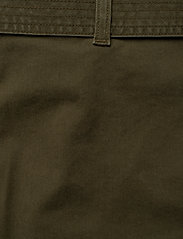 Tommy Hilfiger - COTTON TWILL MINI SKIRT - jupes courtes - army green - 4