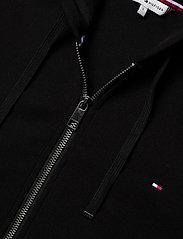 Tommy Hilfiger - ZIP-THROUGH HOODIE - bluzy z kapturem - black - 2