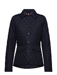 TH ESS QUILTED JACKET - DESERT SKY