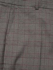 Tommy Hilfiger - Y/D POW CHECK SLIM AL PANT - straight leg trousers - cw check black small scale - 2