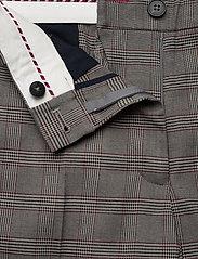 Tommy Hilfiger - Y/D POW CHECK SLIM AL PANT - straight leg trousers - cw check black small scale - 3