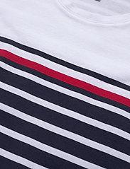 Tommy Hilfiger - BALOU REGULAR C-NK DRESS SS - midi kjoler - eng stp gs  desert sky - 2