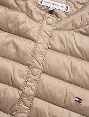 Tommy Hilfiger - BELLA LW DOWN COLLAR - padded jackets - medium taupe - 2