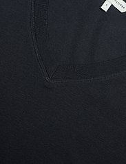 Tommy Hilfiger - SLIM V-NK COSY TOP LS - long-sleeved tops - desert sky - 2