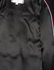 Tommy Hilfiger - WOOL BLEND FUNNEL COAT - wool coats - black - 5