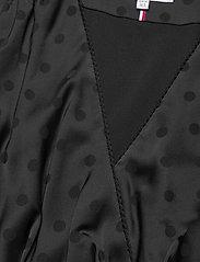 Tommy Hilfiger - POLKA DOT FIT&FLARE WRAP DRESS - wrap dresses - black - 2