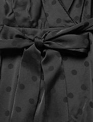 Tommy Hilfiger - POLKA DOT FIT&FLARE WRAP DRESS - wrap dresses - black - 3